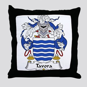 Tavora Family Crest Throw Pillow