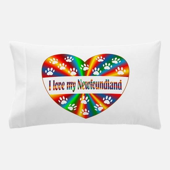 Newfoundland Love Pillow Case