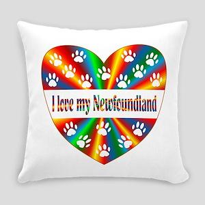 Newfoundland Love Everyday Pillow