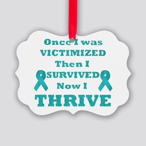Awareness Picture Ornament