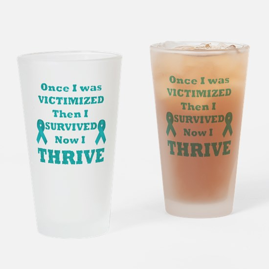 Awareness Drinking Glass