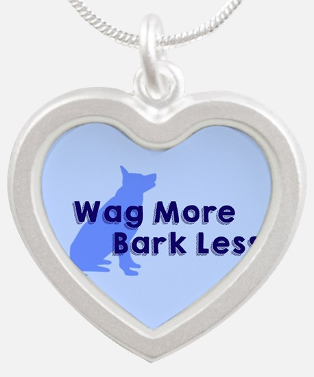 wag more, bark less Necklaces
