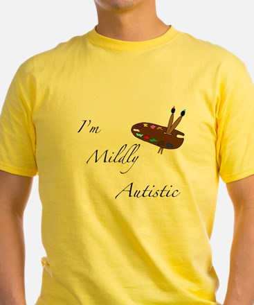 Yellow Autistic T-Shirt