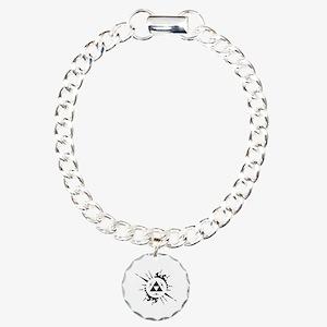 trifuerza Charm Bracelet, One Charm