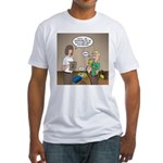 CPR Training Fitted T-Shirt