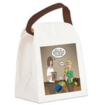 CPR Training Canvas Lunch Bag