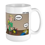 CPR Training Large Mug