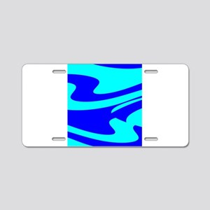 Turquoise Wild Wave Randy's Aluminum License Plate