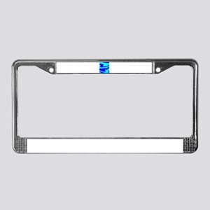 Turquoise Wild Wave Randy's Fa License Plate Frame