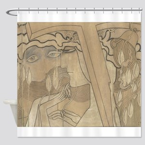 Desire and Satisfaction Shower Curtain