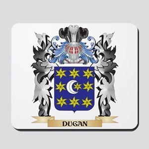 Dugan Coat of Arms - Family Crest Mousepad