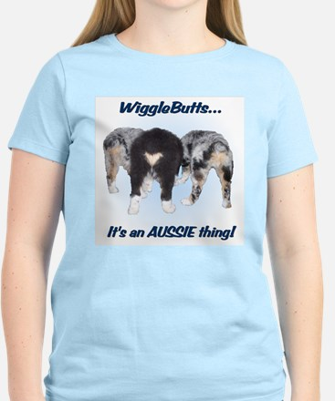 Wigglebutts Women's Light T-Shirt