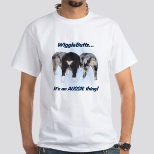 Wigglebutts White T-Shirt