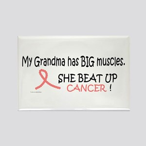 My Grandma Has Big Muscles 1 Rectangle Magnet