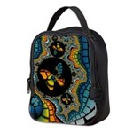 fractal cocoon Neoprene Lunch Bag