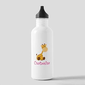 Custom Baby Giraffe Stainless Water Bottle 1.0L