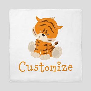 Custom Baby Tiger Queen Duvet