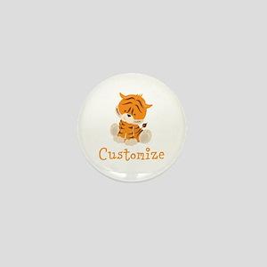 Custom Baby Tiger Mini Button