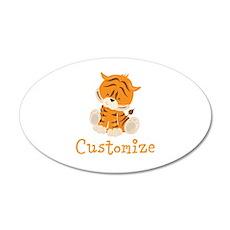 Custom Baby Tiger Wall Decal