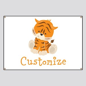 Custom Baby Tiger Banner