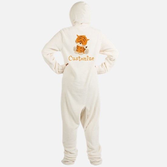 Custom Baby Tiger Footed Pajamas