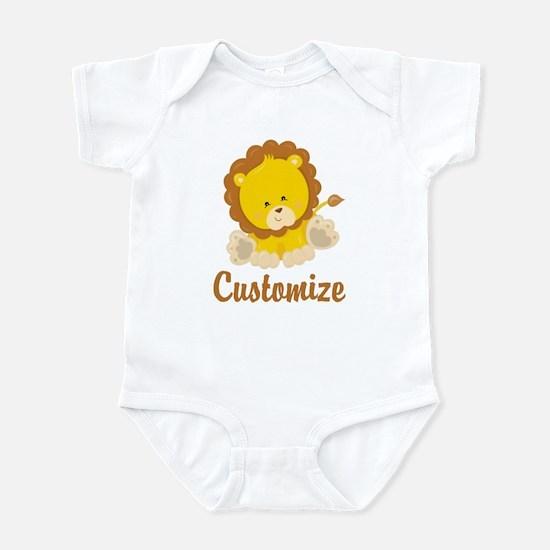 Custom Baby Lion Infant Bodysuit