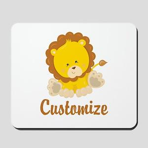 Custom Baby Lion Mousepad
