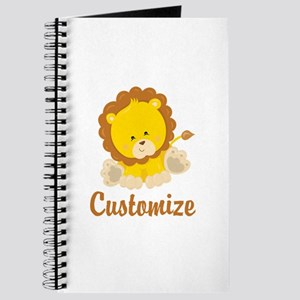 Custom Baby Lion Journal