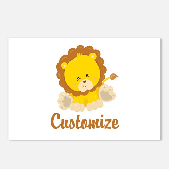 Custom Baby Lion Postcards (Package of 8)