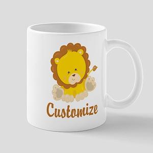 Custom Baby Lion Mug