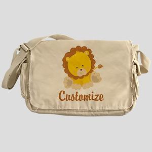 Custom Baby Lion Messenger Bag