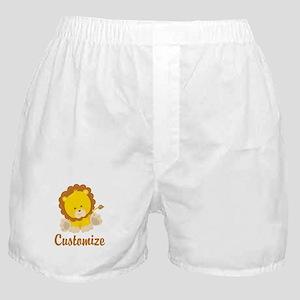 Custom Baby Lion Boxer Shorts
