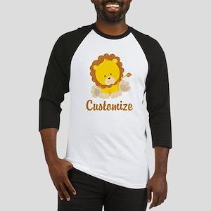 Custom Baby Lion Baseball Jersey