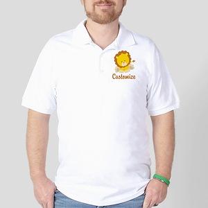 Custom Baby Lion Golf Shirt