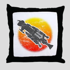 Mark IX Hawk Throw Pillow