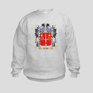 Dunn- Coat of Arms - Family Crest Kids Sweatshirt