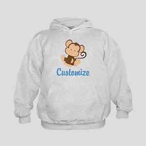 Custom Monkey Kids Hoodie