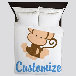 Custom Monkey Queen Duvet