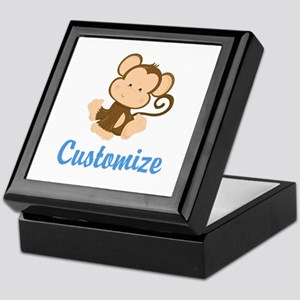 Custom Monkey Keepsake Box