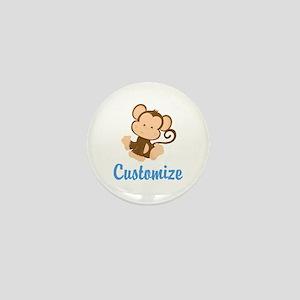 Custom Monkey Mini Button