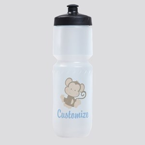 Custom Monkey Sports Bottle