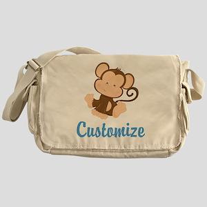 Custom Monkey Messenger Bag