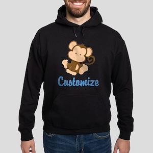 Custom Monkey Hoodie (dark)