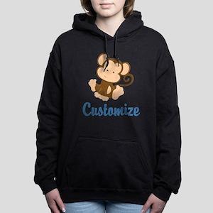Custom Monkey Women's Hooded Sweatshirt