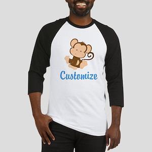 Custom Monkey Baseball Jersey