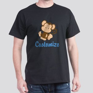 Custom Monkey Dark T-Shirt