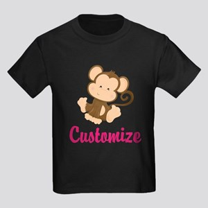 Personalize this adorable baby m Kids Dark T-Shirt
