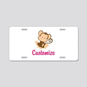 Personalize this adorable b Aluminum License Plate