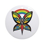 Rainbow Girls Ornament (Round)