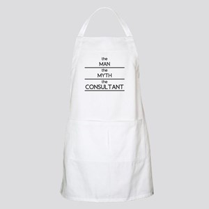 The Man The Myth The Consultant Apron